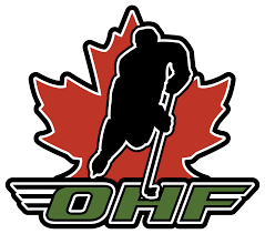 Logo for OHF - Ontario Hockey Federation